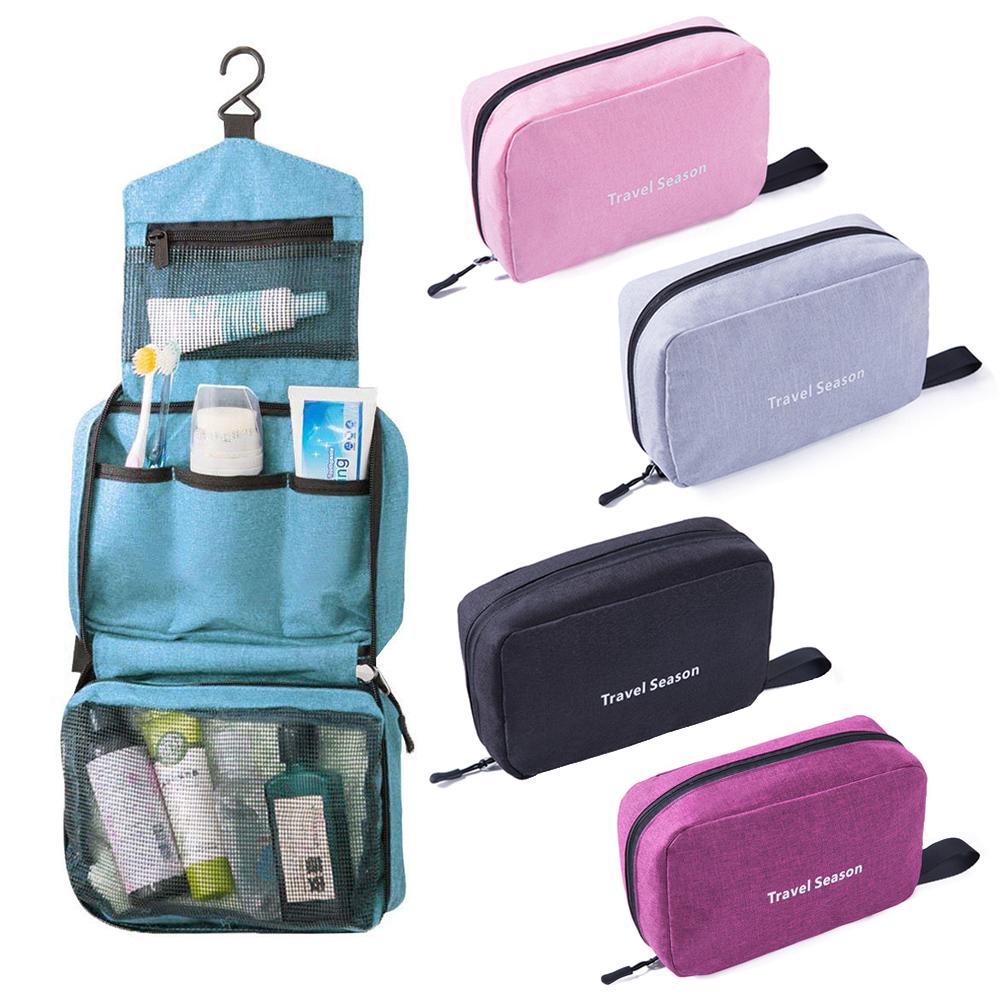 Leslie可掛式防水摺疊旅行盥洗收納包