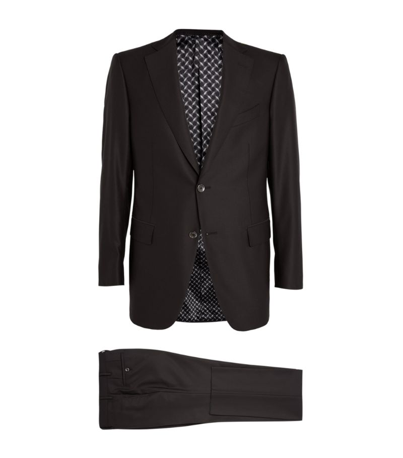 Zilli Wool Two-Piece Suit