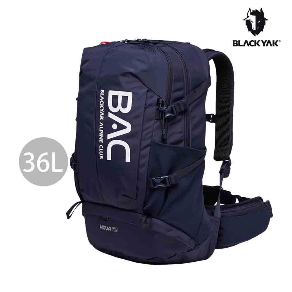 【BLACKYAK】BAC NOVA 36L登山背包[海軍藍] 隨身包 休閒包 運動包 登山包 BYAB1NBF0156