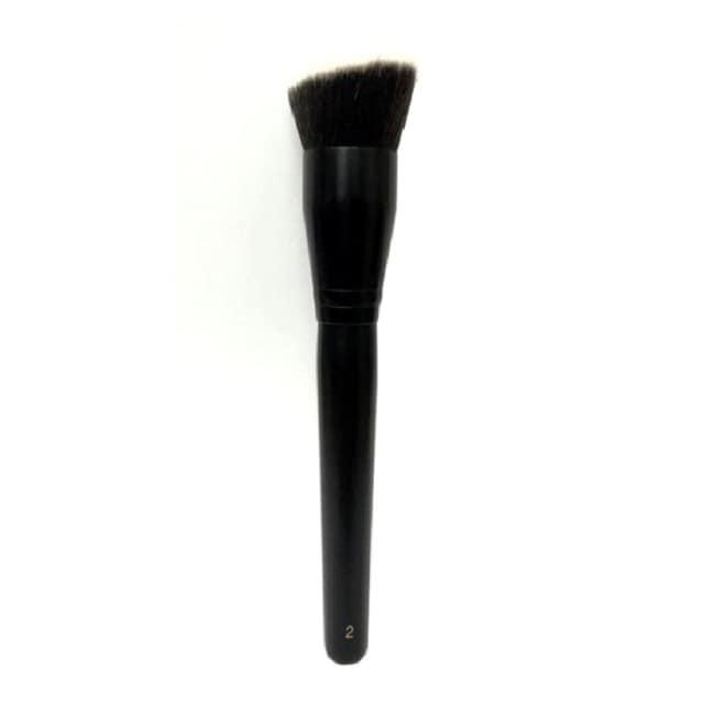 miine高級訂製化妝刷具-斜角粉底刷【屈臣氏】