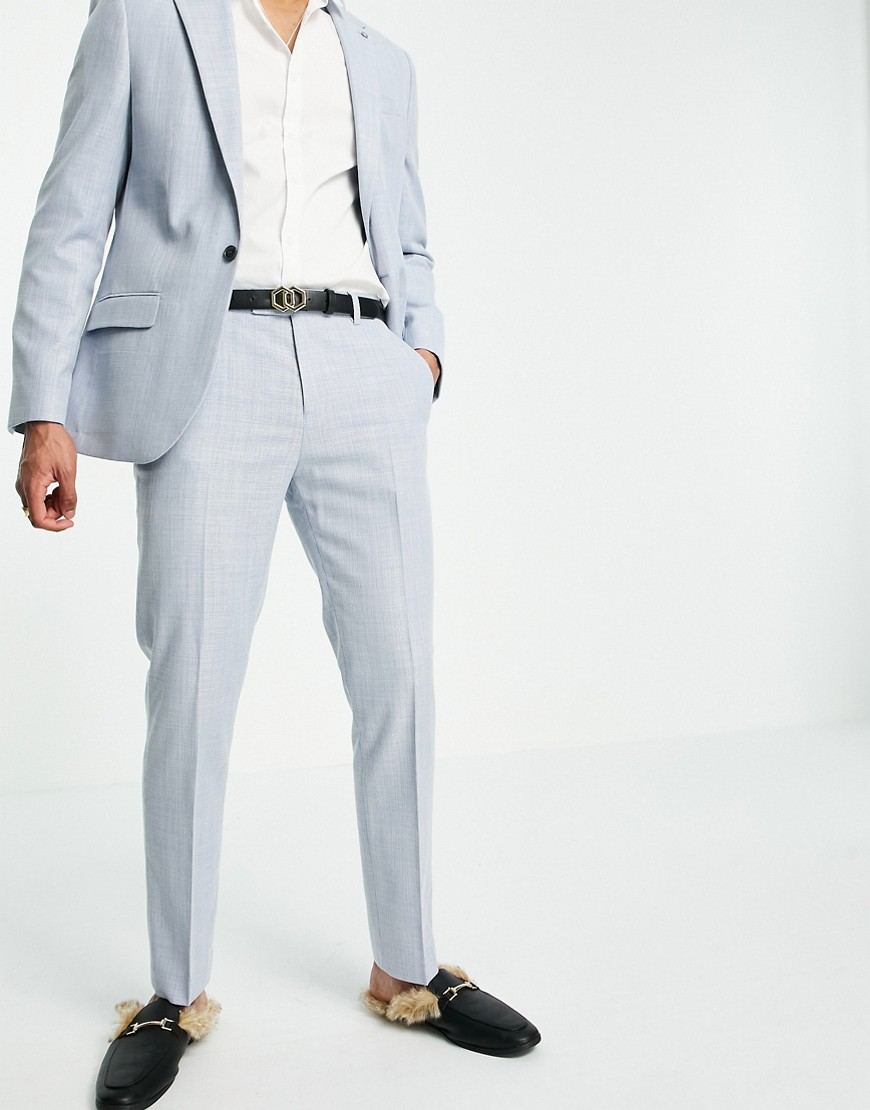 River Island suit trousers in blue