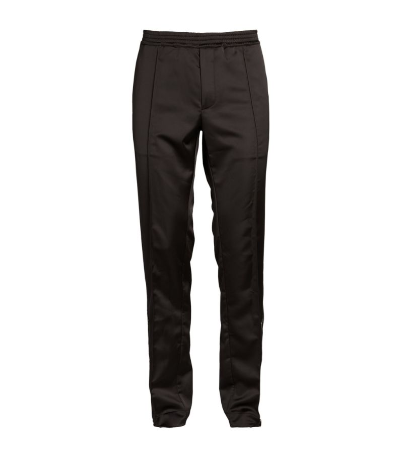 1017 Alyx 9Sm Satin Ankle-Zip Trousers