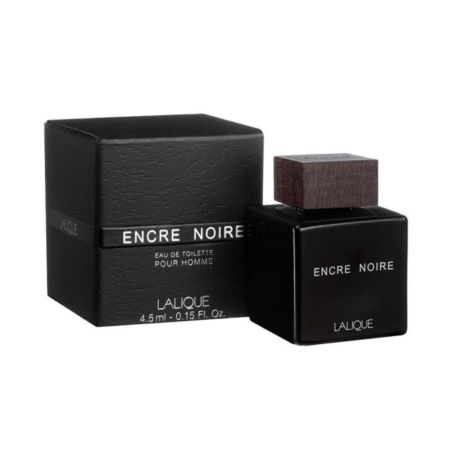 LALIQUE萊儷 Encre Noire黑澤男性淡香水 4.5ml
