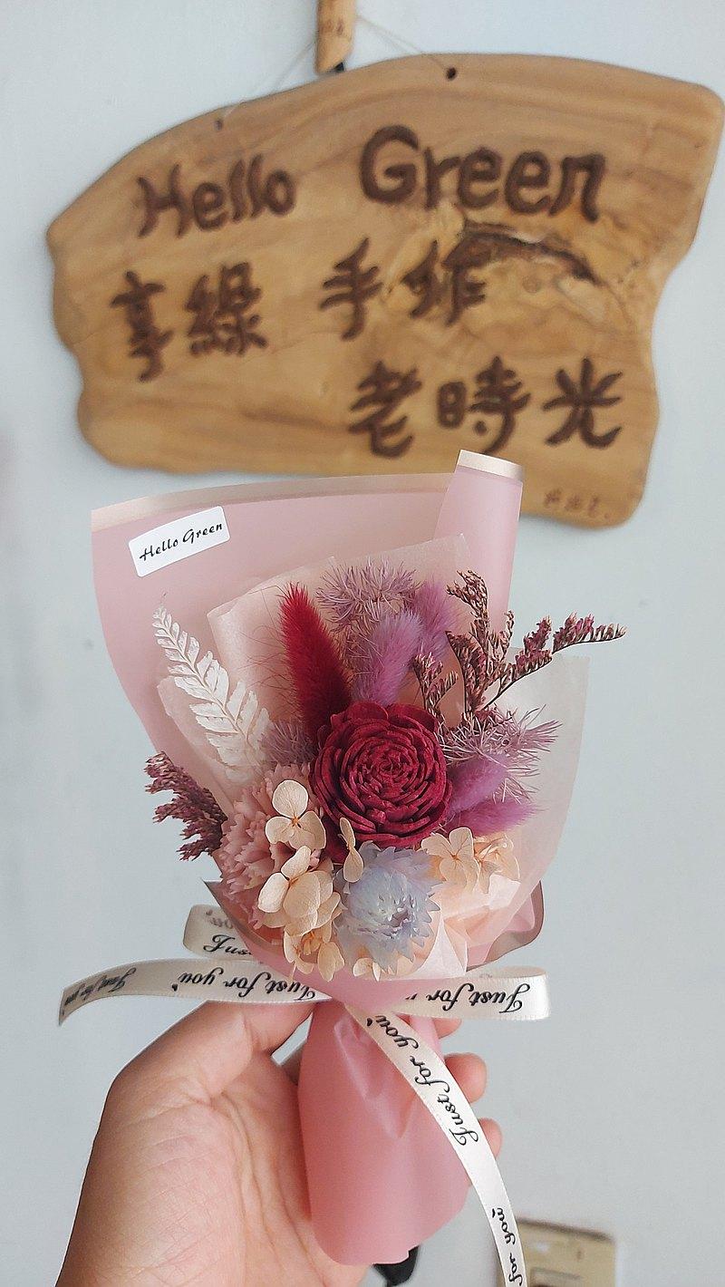 康乃馨索拉花小花束香水禮盒