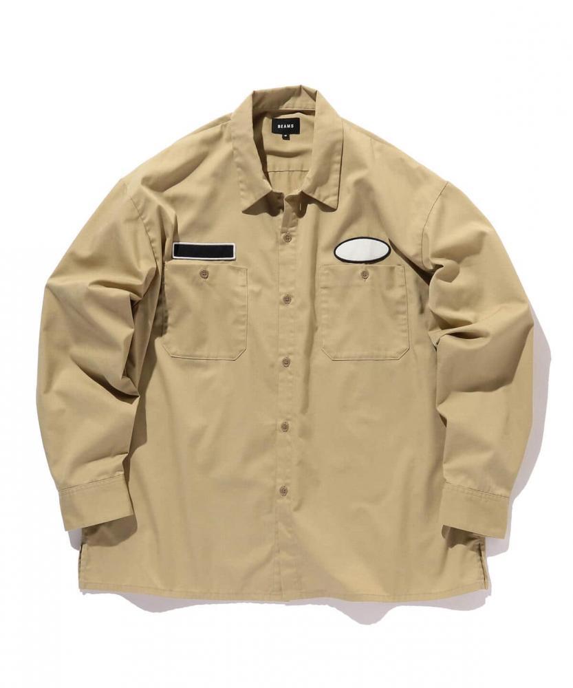BEAMS / 男裝 寬鬆 工作襯衫