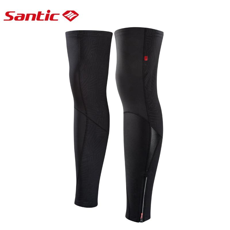 Santic男士騎行保暖鞋女士保暖羊毛防風軟殼護膝山地車自行車運動自行車二頭肌