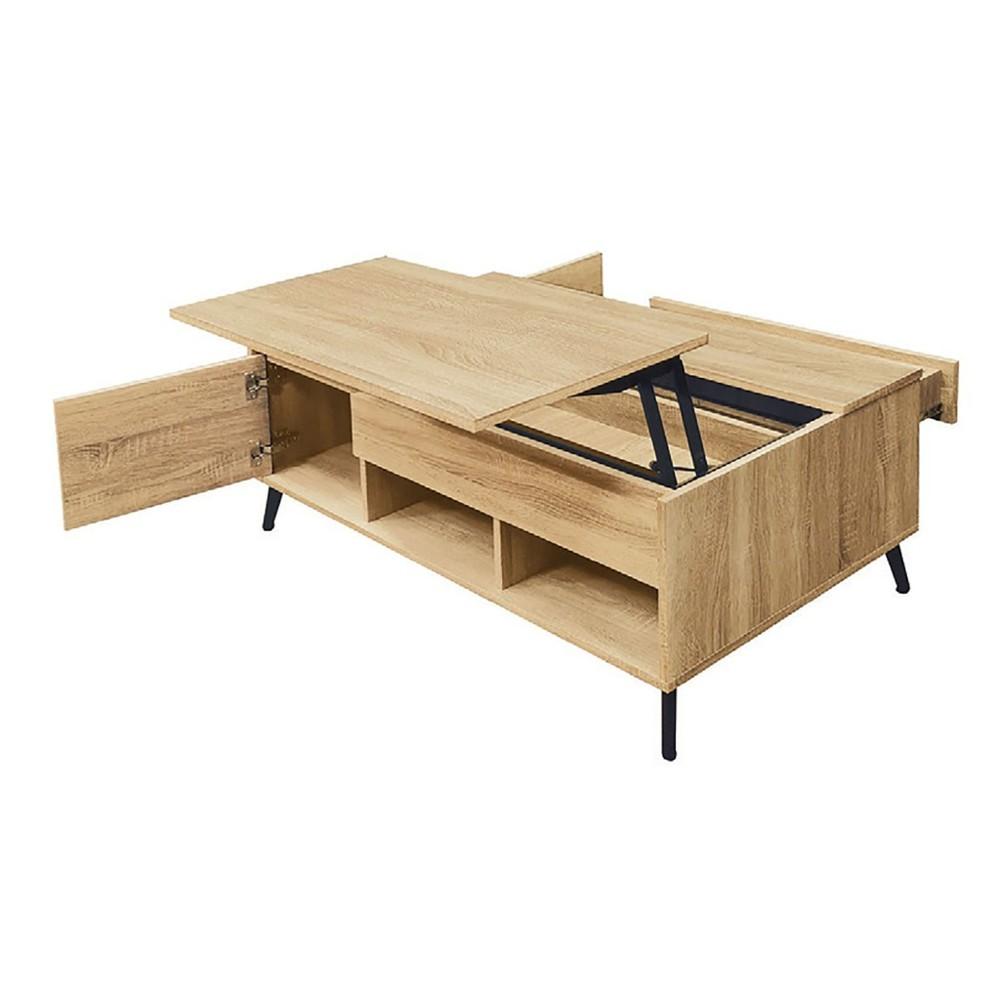 120cm大茶几-k42-943實木原木玻璃 大理石長方桌 大小邊几 圓桌  金滿屋