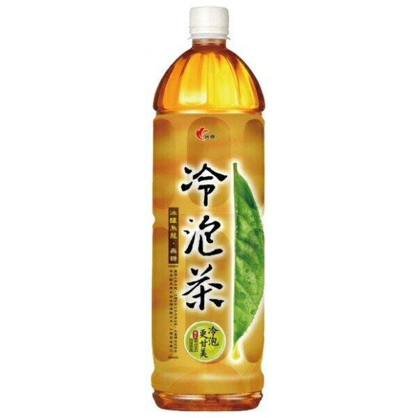 光泉 冷泡茶-冰釀烏龍(無糖)(1235ml/瓶) [大買家]