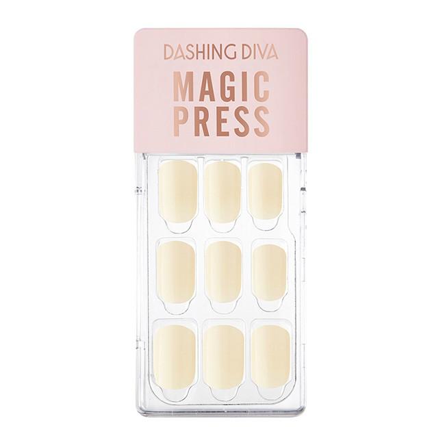 Dashing Diva光療薄型美甲片- 白色亞麻
