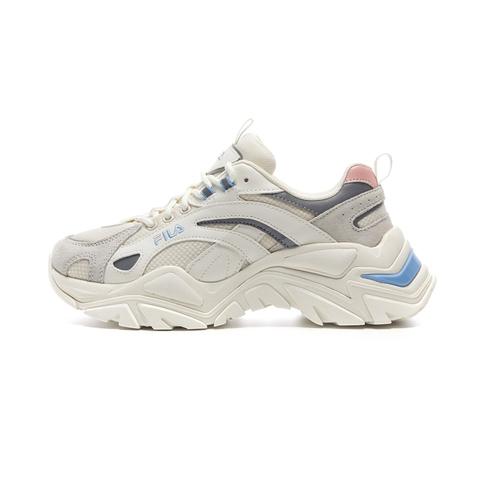 FILA INTERATION中性運動鞋-粉藍 4-C107V-152