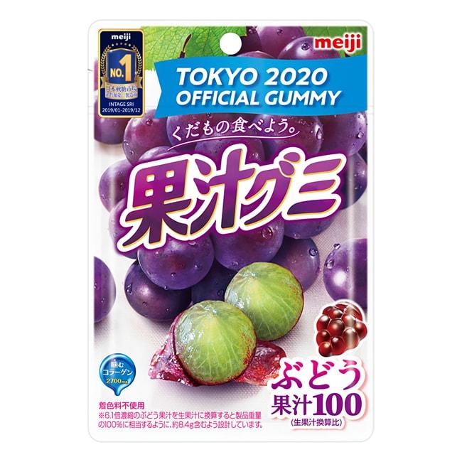 明治果汁QQ糖-萄萄 51g