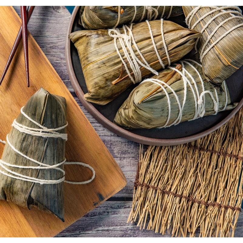 【端午粽樂樂預購】祥和蔬食 原味三杯素粽(5粒裝)(全素)