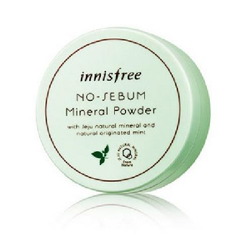 innisfree 無油光天然薄荷礦物控油蜜粉(5g/盒) [大買家]