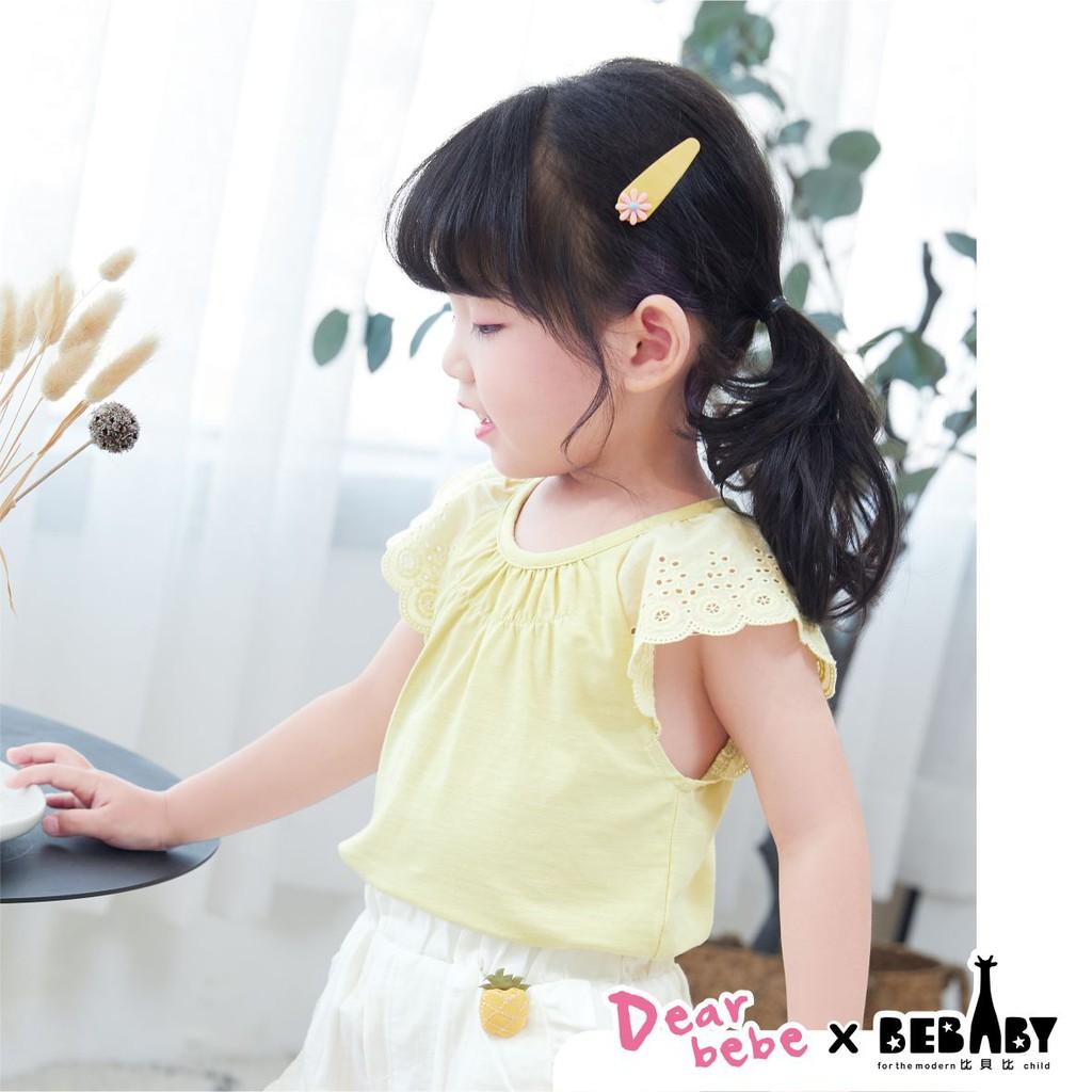 【BEBABY】氣質小公主 蕾絲袖上衣│短袖 無袖 蕾絲 蕾絲袖 韓系 韓版 80cm-120cm BSI41339