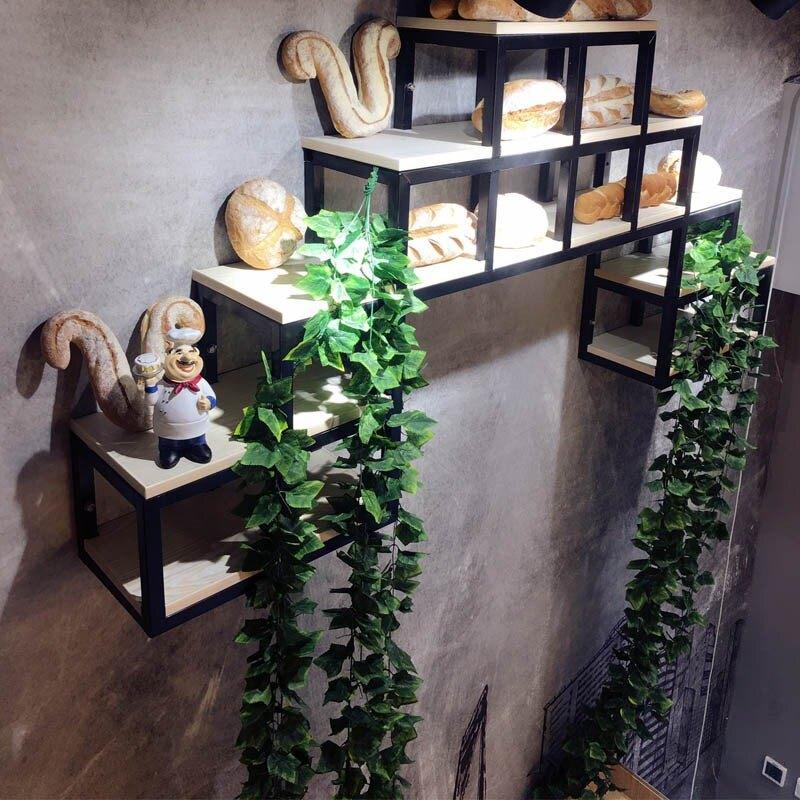 仿真綠蘿葉藤條綠植藤蔓植物樹葉水管道纏繞農家樂吊頂楓葉裝飾1 愛尚優品