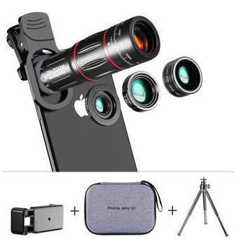 廣角鏡頭 長焦望遠鏡頭 手機【28X 微距魚眼 高清】廣角套裝lens外置攝像頭/可開超取