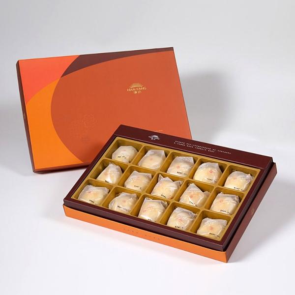 【御藏】綠豆小月餅15入禮盒(蛋奶素)