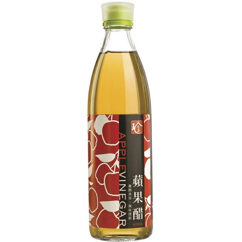 百家珍 蘋果醋(600ml/瓶) [大買家]