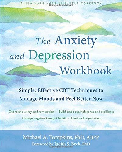 [2美國直購] Amazon 2021 暢銷排行榜 The Anxiety and Depression Workbook: Simple, Effective CBT Techniques to M