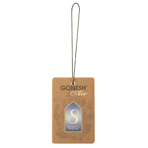 買一送一GONESH 8號 春之薄霧 精油芳香 吊卡 / 香片