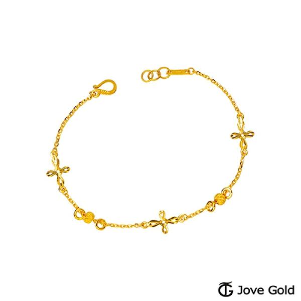 JoveGold漾金飾 堅強黃金手鍊