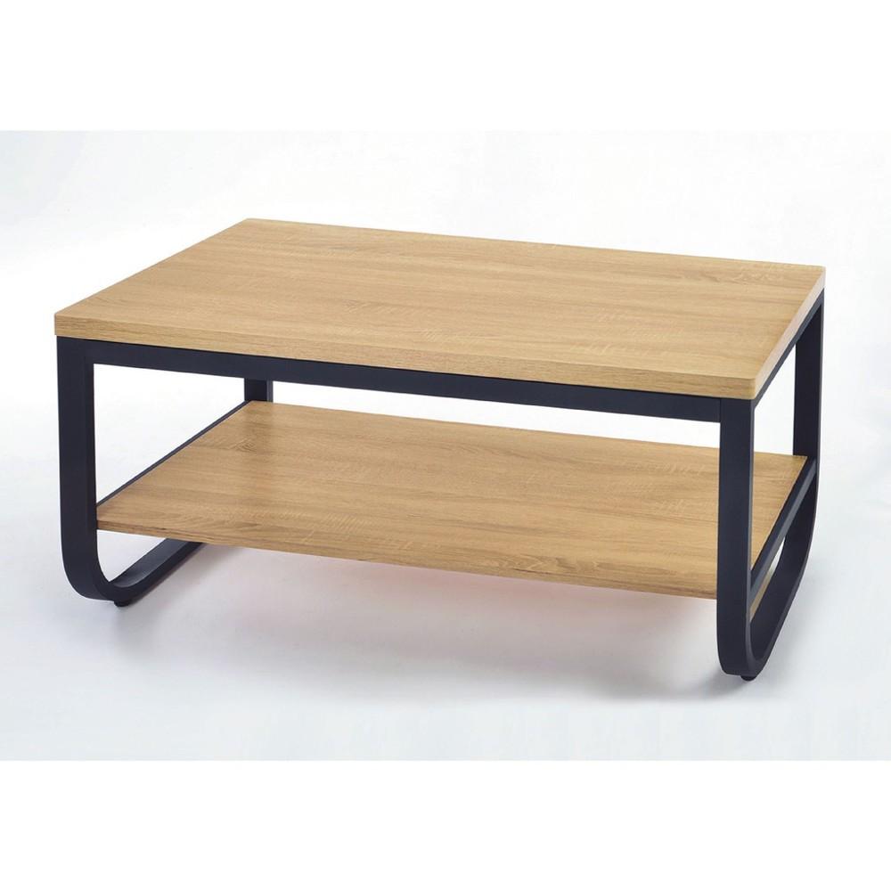 120cm大茶几-k11-94實木原木玻璃 大理石長方桌 大小邊几 圓桌  金滿屋