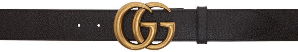 Gucci 棕色 GG Marmont 腰带