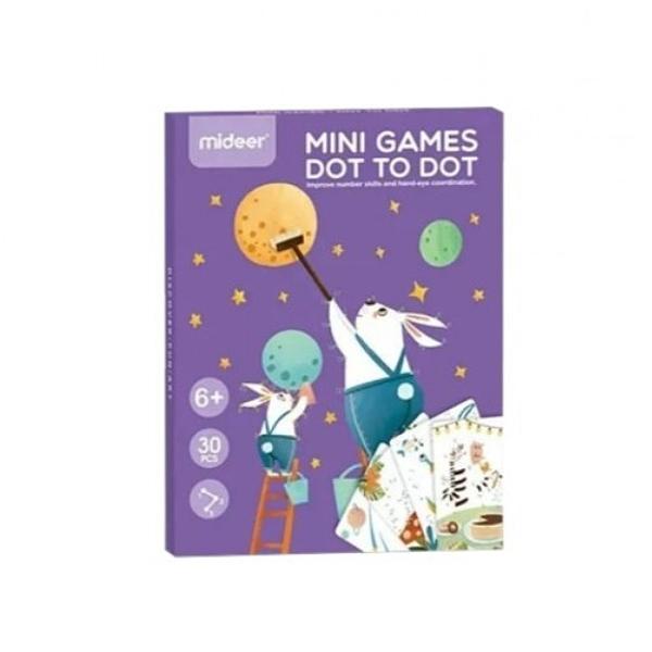 《 MiDeer 》迷你購物卡-數字連連看 / JOYBUS玩具百貨