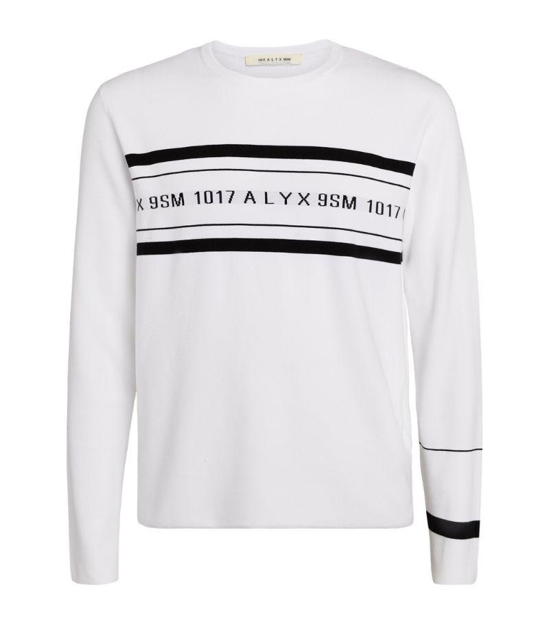 1017 Alyx 9Sm Logo Crew-Neck Sweater