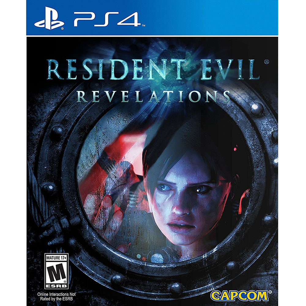 PS4《惡靈古堡:啟示 RESIDENT EVIL REVELATIONS》中英日文美版