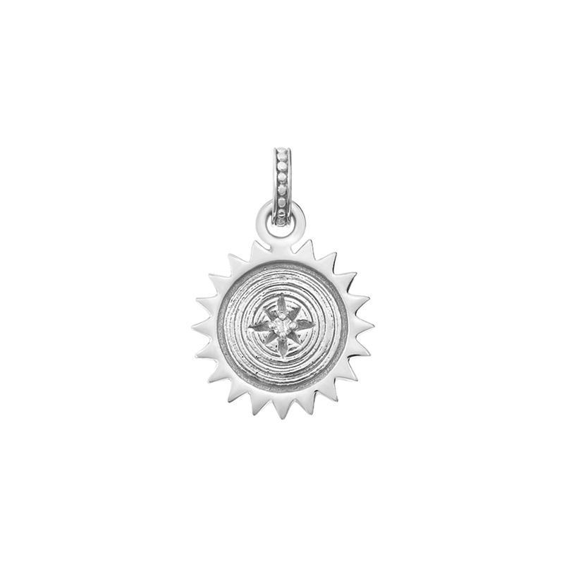Diamond Small Sun Story Charm - 0.01CT