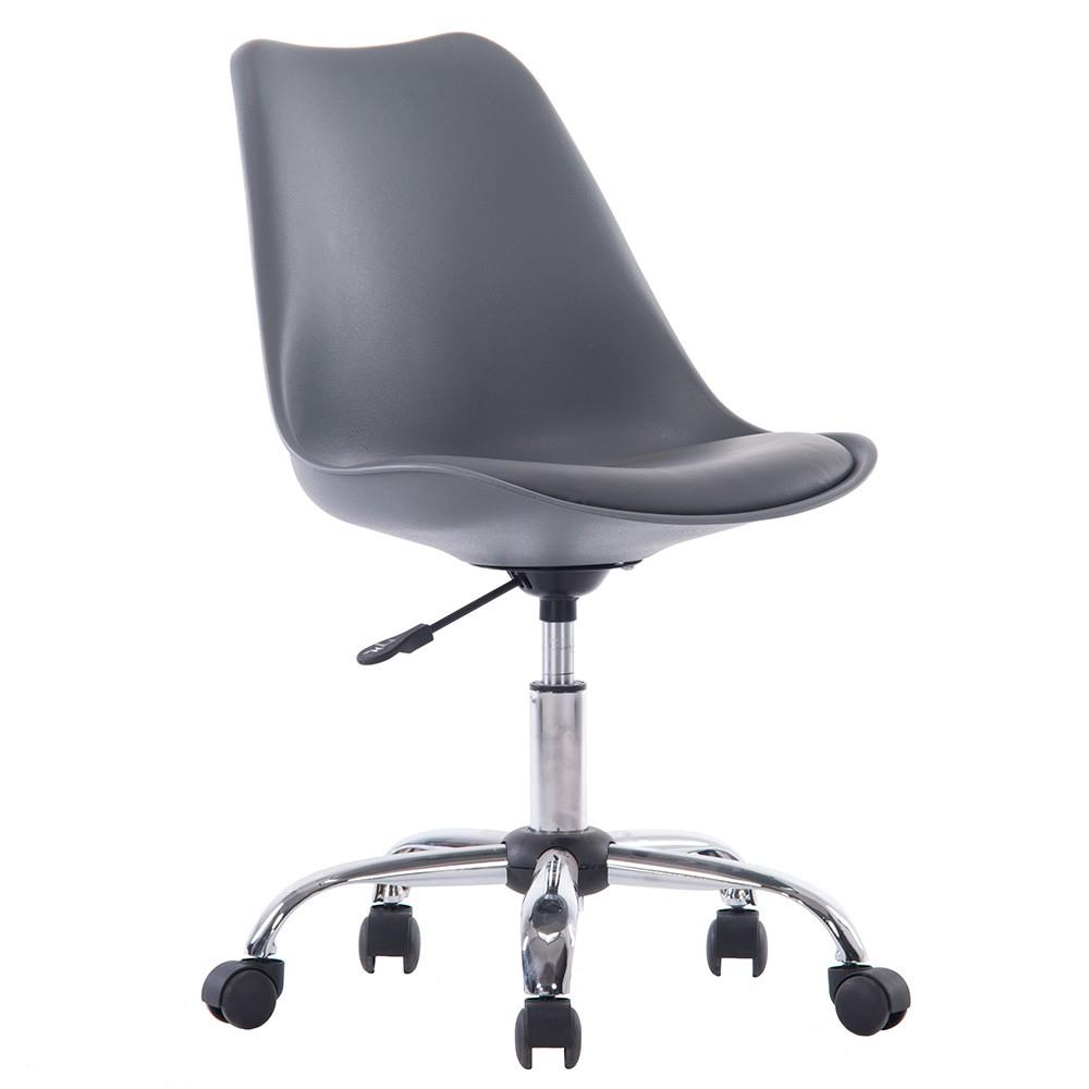 北歐經典造型軟墊電腦椅/辦公椅 四色可選 | 美規設計傢俱