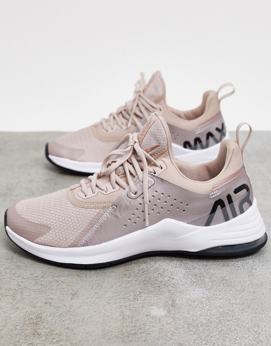 Nike Training Air Max Bella trainers in rose gold-Pink