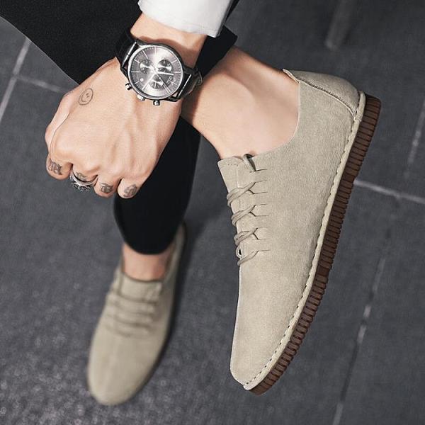 【Charm Beauty】網紅爆款 鞋子 男潮鞋 韓版 潮流 百搭 休閑 皮鞋 青年 男士 小皮鞋 2021新款