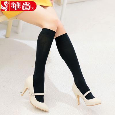 華貴絲襪-時尚寬口中統襪(9087)-3雙入