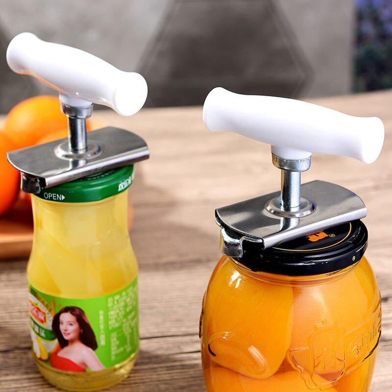 省力擰蓋神器 開罐器開瓶器 玻璃罐頭開蓋利器 開擰瓶蓋器 旋蓋器