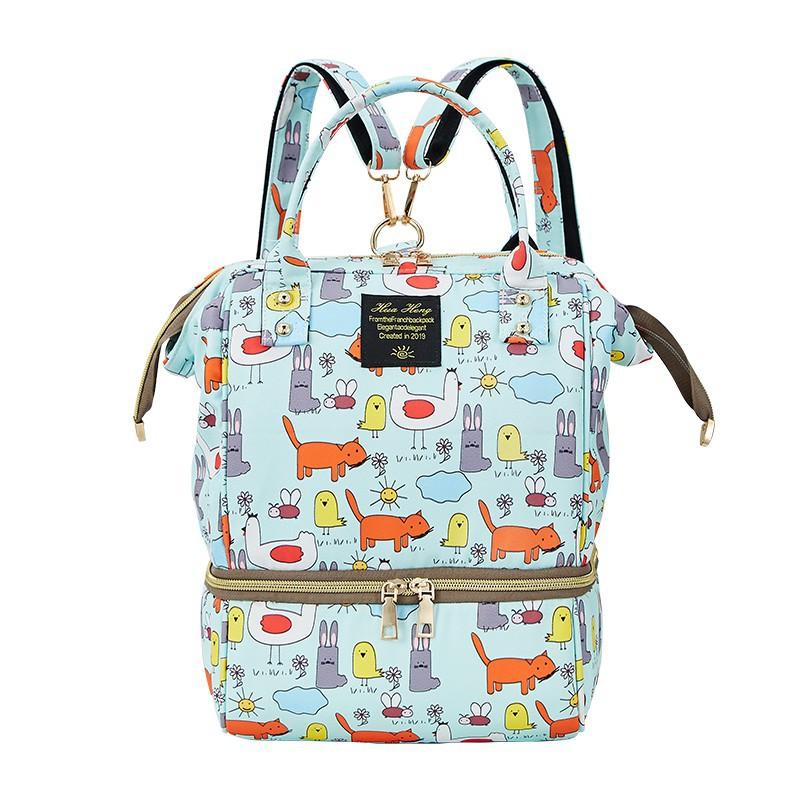 媽咪包 專業强大多功能大容量母嬰包 防水尿布包 外出背奶包【IU貝嬰屋】