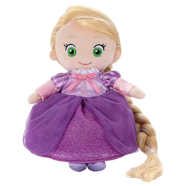 T-ARTS 迪士尼公主 樂佩閃亮梳髮絨毛娃娃_TA53425