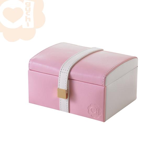 【最後出清】特價4折 禮物甜心珠寶盒 (春舞天使系列) 手工精品時尚設計珠寶盒 極細微瑕疵01