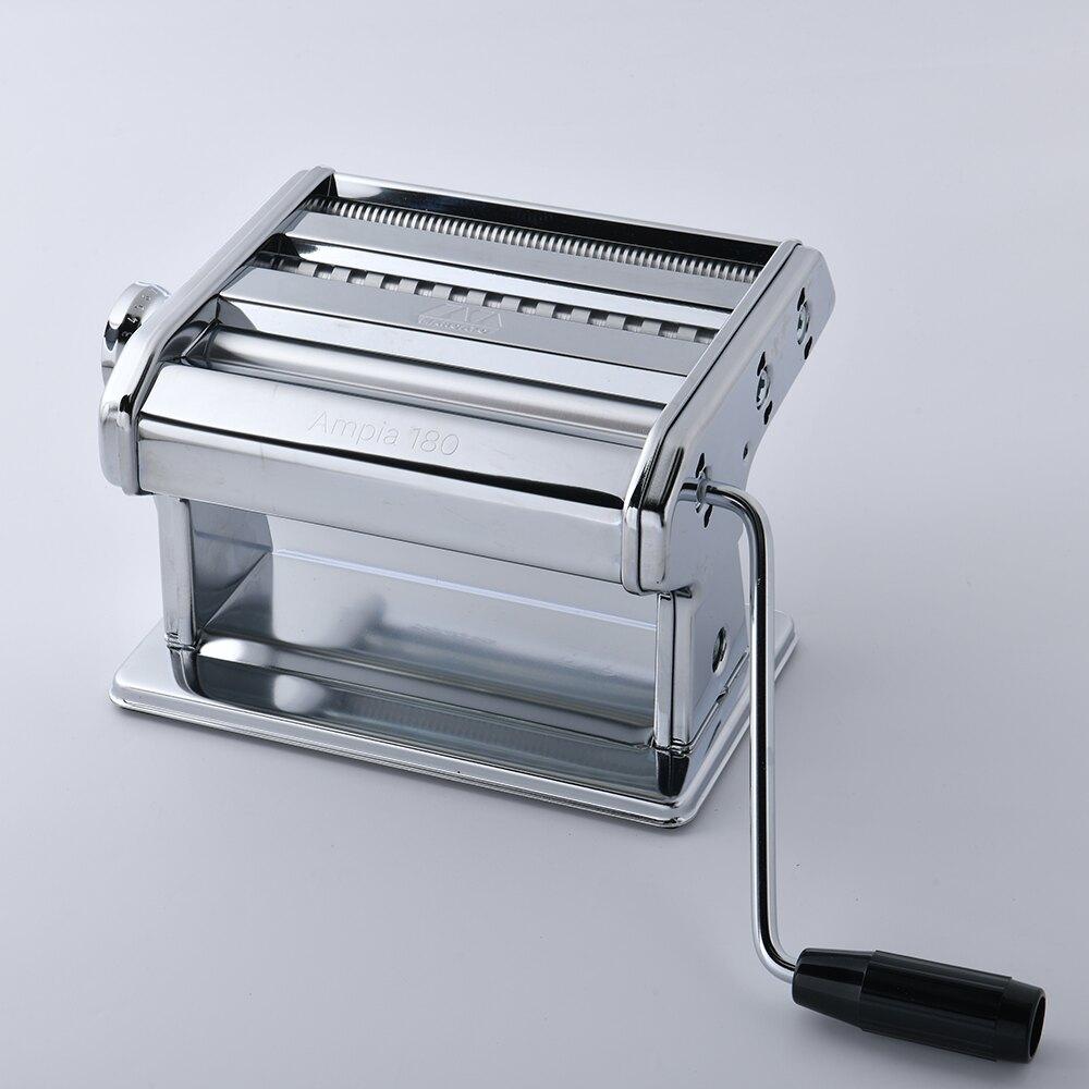 【義大利 Marcato】Ampia 180 一體成型製麵機 壓麵機 切麵機 銀色 義大利製