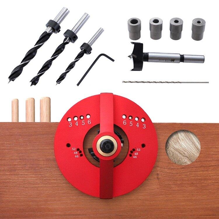 多功能鉸鏈開孔定位器門板合頁 35mm木工鉸鏈打孔安裝輔助工具