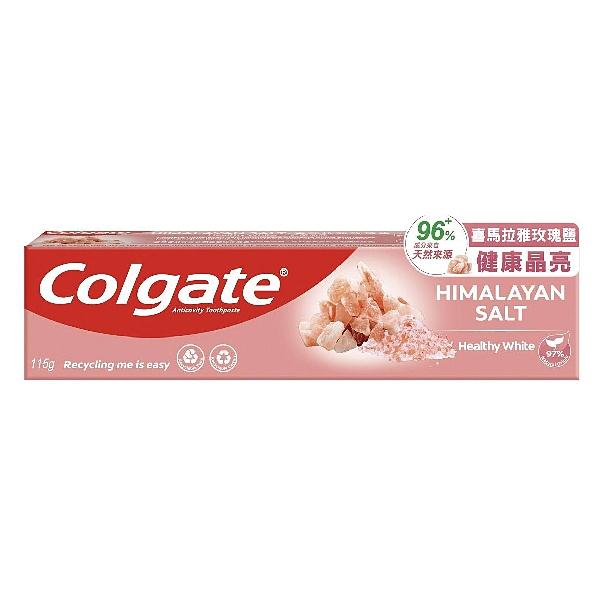 Colgate 高露潔 自然之萃健康晶亮牙膏 (116g/條)【杏一】