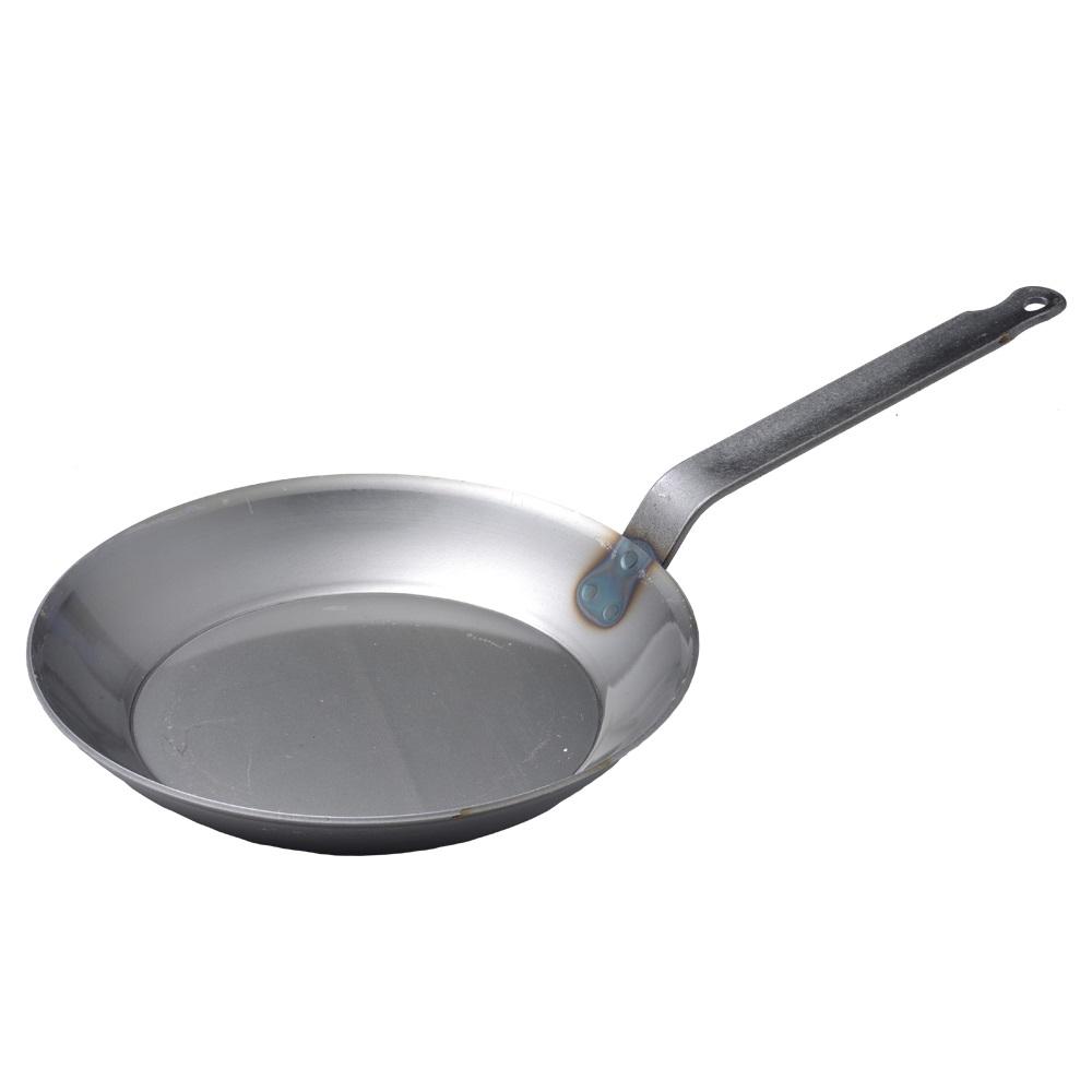 【德國Turk】土克鍋 冷鍛 專業版 碳鋼鍋 鐵鍋 單柄鍋 28cm 66228 德國製 (德國Turk鐵鍋 Turk28cm) -618年中慶