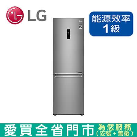 LG 343L雙門變頻WiFi冰箱GW-BF389SA_含配送到府+標準安裝