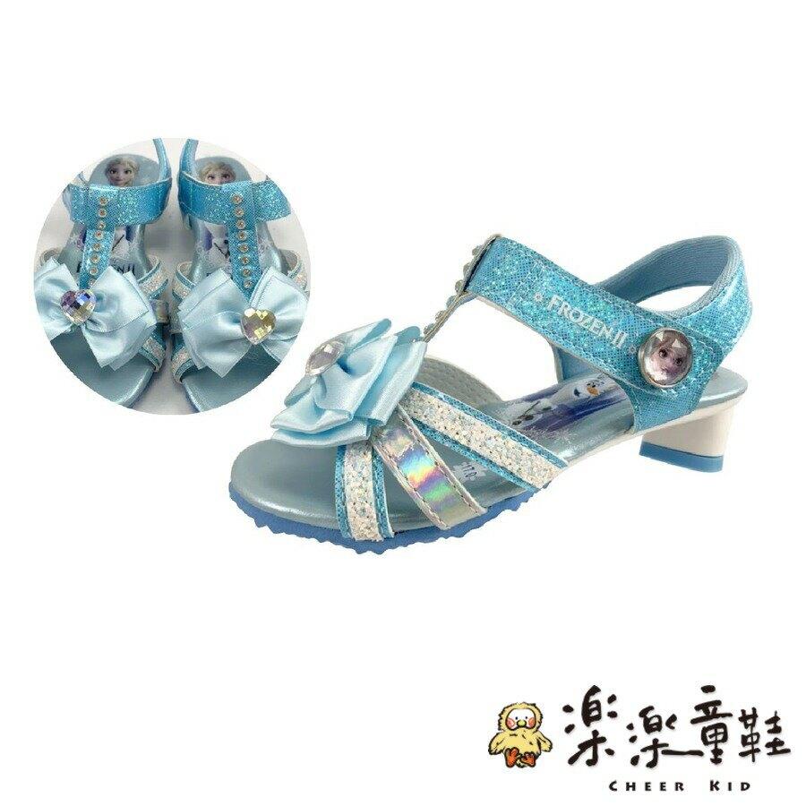 【樂樂童鞋】台灣製冰雪奇緣低跟涼鞋-粉色 - 女童鞋 涼鞋 大童鞋 公主鞋 娃娃鞋 現貨 兒童涼鞋 大童涼鞋 迪士尼 冰雪奇緣 MIT DISNEY