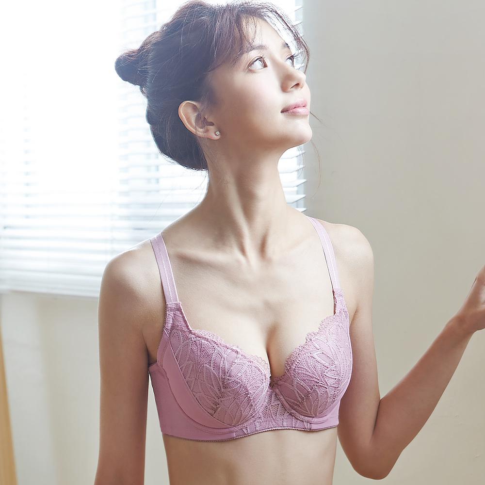 蕾黛絲-盼曦 B-F罩杯內衣 梅粉|D27-018 94
