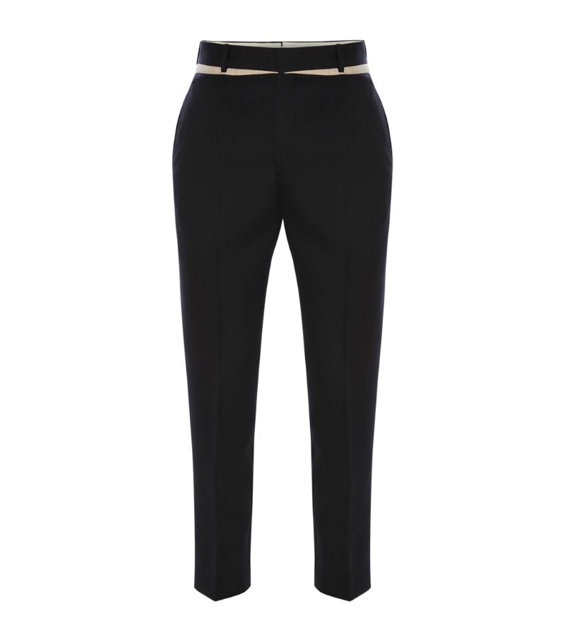 Alexander Mcqueen Panelled Tailored Trousers