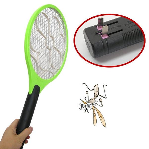 【DQ344】充電式~三層防網電蚊拍大尺寸 超大電力 三層防護網補蚊拍 EZGO商城