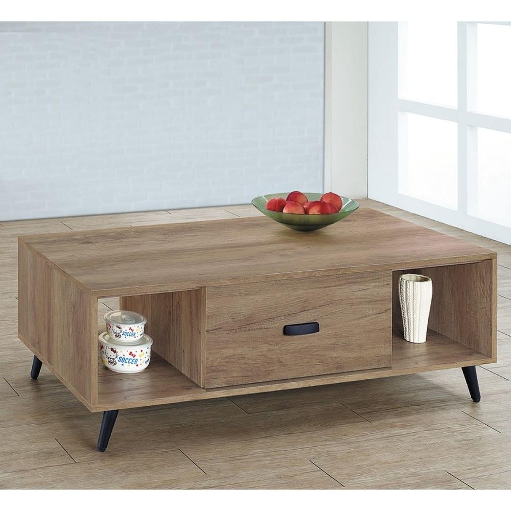 120cm大茶几-k24-519實木原木玻璃 大理石長方桌 大小邊几 圓桌  金滿屋