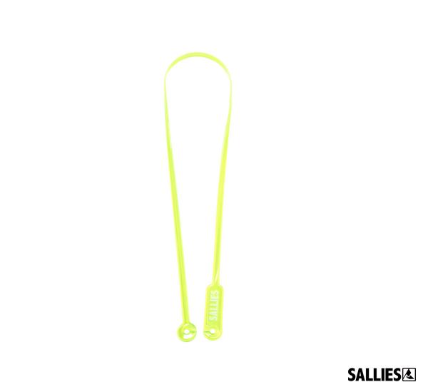 SALLIES MASK SLING透視感超輕量口罩掛繩(螢光黃)